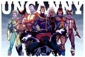 The UNCANNY X-MEN by Juggertha