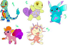 CLOSED - Pokemon Point Adopts by P-Pixie-Adopts-Bases