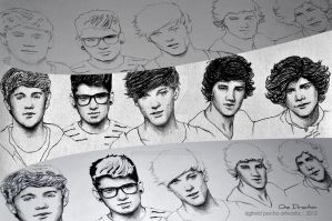 One Direction (WIP version) by raymundpecho