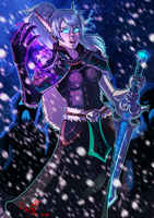 [art trade][wow] Icy Winds by SirMeo
