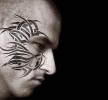 face tatoo by Future01