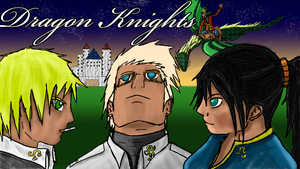 Dragon Knights Wallpaper by kenchinblade