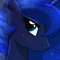 ...MLP FIM Luna icon 3... by Joakaha