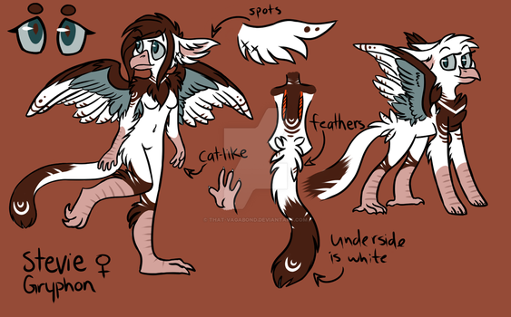 Stevie - Reference sheet by That-Vagabond