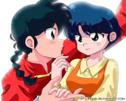 Ranma And Akane by NanyJfreak