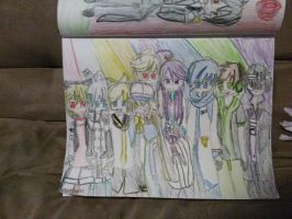 My favorite male Vocaloids!!) by Anyadraw