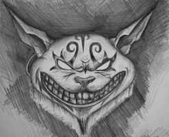 Alice Madness Cat by Nick356