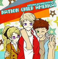 Nation Child American Kids! by BlueStorm-Studio