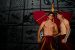 Zuko and Aang by elitecosplay