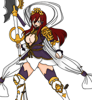 Erza Scarlet Chapter 321 by AliceTweetyx2