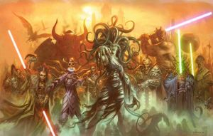 Ravnica wars by predatorwarrior1985