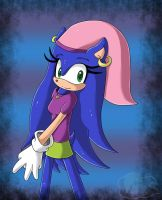 Art Trade: Selena The Hedgehog by Flame-of-Icarus