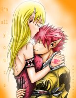 NaLu - I'm all yours by Xela-scarlet