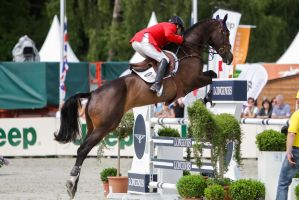 3DE Show Jumping Phase Stock 169 by LuDa-Stock