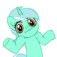 Shrugpony Lyra by MoongazePonies
