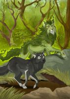 Eliah and the Forest by Plaguedog