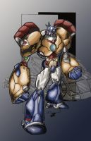 Transtech Optimus Primal by RoadbusterDoM