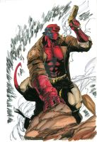 Hellboy by drklegion