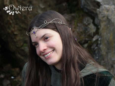 Elven circlet Owieru 2 by Nexogure