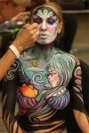 Celestial Face and Body Art by PaintOnYourFace