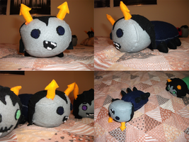 Equius Grub Plushie by spazzout
