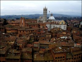 Siena Rooftops by mydigitalmind
