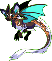 African wild dragon by Pand-ASS