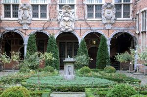 baroque noble courtyard by barefootliam-stock