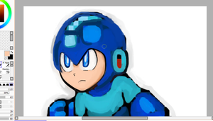 Megaman 7 Model Remake by Vincent2215