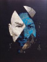 X-men Days of future past cross stitch by Ngarner2