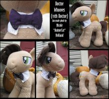 Docto Whooves (11th Doctor) Plush by StudioNeko
