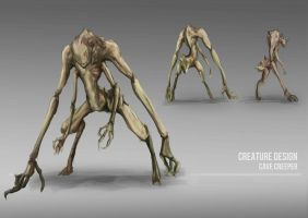 Old Assignment Creature Design by Coolnova