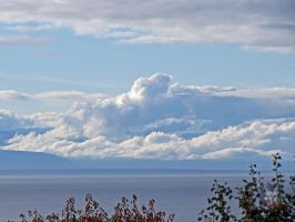 Clouds Over Vancouver Island by wolfwings1