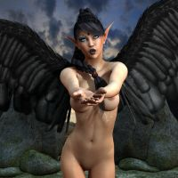 Elfen Tattoo Pin-Up 033 by Evinessa