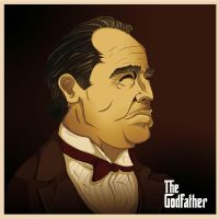 Don  Vito Corleone by DapperNoir