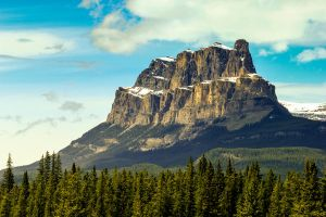 Castle Mountain, Banff by ottodc6