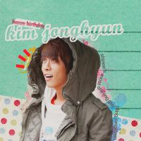 Happy Birthday Bling Jonghyun by Byakushirie