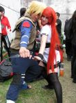 Minato and Kushina cosplay by walkiria2