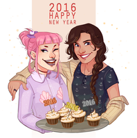 Happy New Year by HetteMaudit