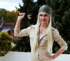 Cosplay: Winry 2 by xXHikaXx