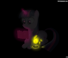 Reading in the dark by 2RIK7