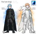 Nuzlocke White: The Twin Kings by ky-nim