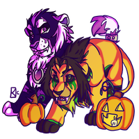 HallowCats by ToLoveaKiwi