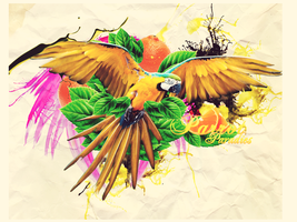 Parrot Paradies by rms-design