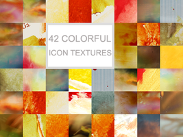 42 colorful icon textures by Kiho-chan