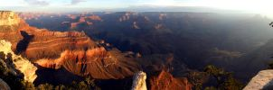 Sunrise At The Grand Canyon RD by arclance