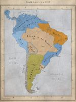 DoD South America, circa 1932 by Alt-Reality
