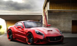 Ferrari California Concept by SzsDesigns