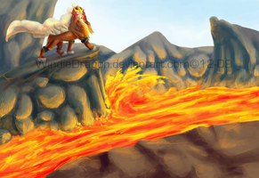 Volcano King -full- by WindieDragon
