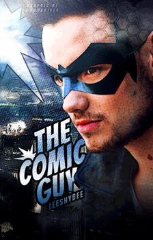 The Comic Guy // Book Cover by moonxriver